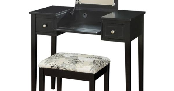 linon home decor corner vanity set linon home decor vanity set with butterfly bench black 13511