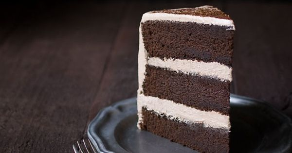 This Chocolate Espresso Layer Cake is the BEST chocolate cake you will