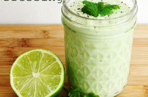 Cilantro Lime Ranch Dressing Enjoy it on salads, as a dip for