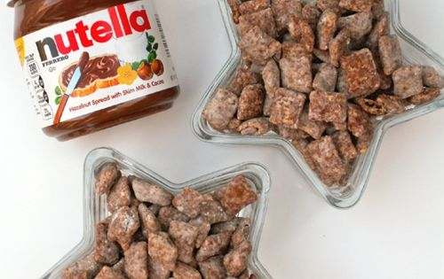 Party food- Nutella Puppy Chow | Community Post: 45 Life Changing Nutella