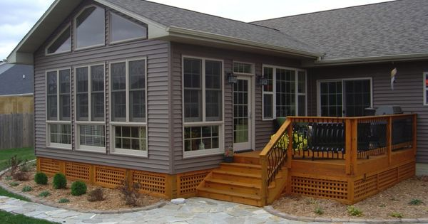 4 Season Room Addition Exterior Des Moines Boone