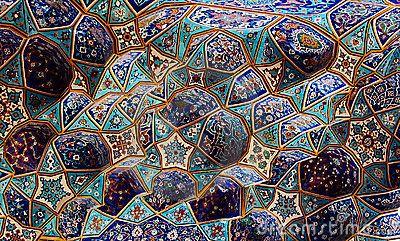 Tilework Persian Studies At Ucsb Blue Tile Patterns Persian Architecture Tile Patterns