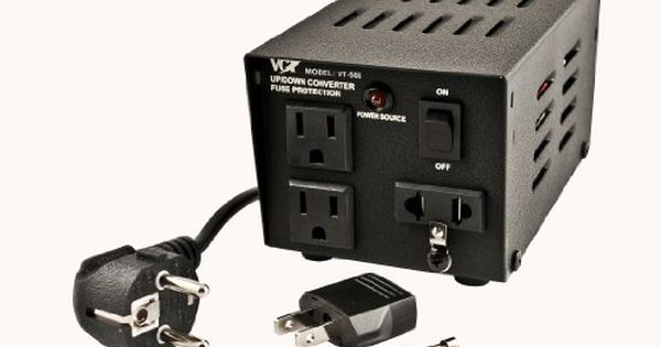 Vct Vt500 Step Updown Voltage Transformer Ac 110220v Power Converter 500 Watts Read More At The Image Link Note It With Images Converter Power Converters Heavy Duty