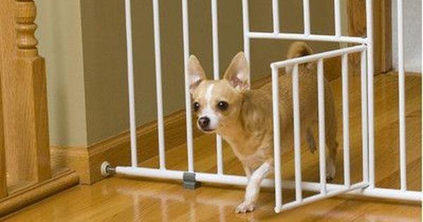 Carlson Pet Mini Pet Gate With Pet Door
