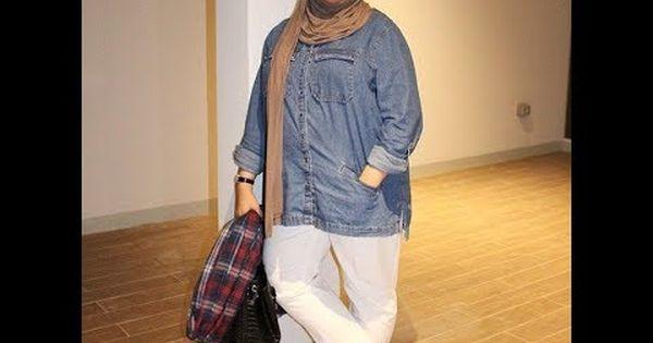 ملابس للسمينات محجبات موديلات ملابس للبدينات 2018 Fashion Hijab Fashion Button Up Shirts