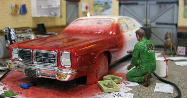 1 24 1 25 Barn Garage Diorama For Sale On Ebay: Model Garages (1:25).