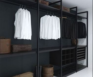 faire un dressing pas cher soi m me facilement dressing pas cher bois peint et dressing. Black Bedroom Furniture Sets. Home Design Ideas