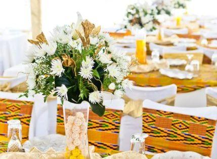 Mariage - Chemins de tables et housses de chaises - Inspiration Kita ...