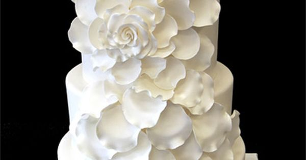 Classic Rose Wedding Cake - By Pink Cake Box Wedding Cakes &