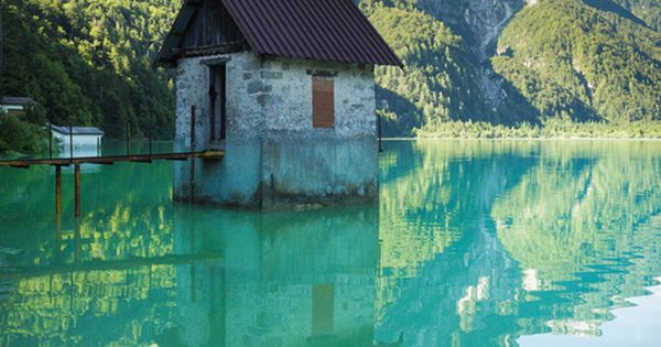 Predil Lake, Friuli-Venezia Giulia, Italy