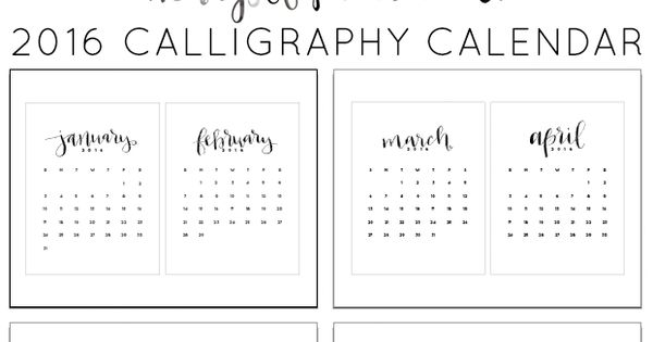 Year Up Calendar : Start your new year off right with this free printable