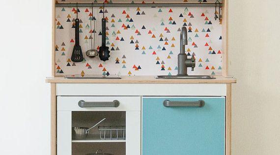 customiser la mini cuisine ikea duktig chambres d 39 enfants pinterest meubles meubles de. Black Bedroom Furniture Sets. Home Design Ideas