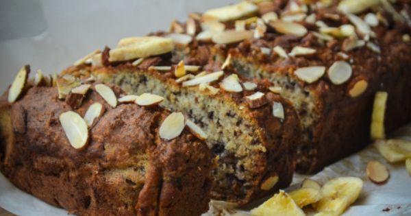 Vegan Almond Banana Loaf-21 | Baked Goodies | Pinterest | Almonds ...