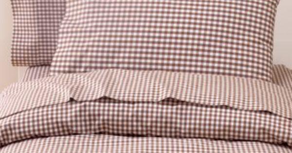Brown Gingham Duvet Cover For Full Size Bed Gingham Sheets Kids Bedding Cabin Furniture