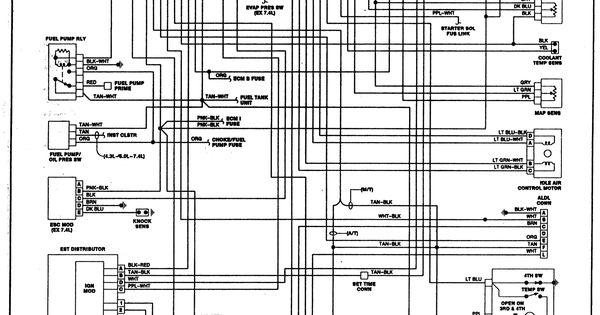 ignitiondiagram 1990 chevy suburban