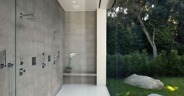 great outside shower