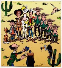 Homenaje A Hanna Barbera Sus Dibujos Animados Lucky Luke Cartoon Crazy Vintage Comics