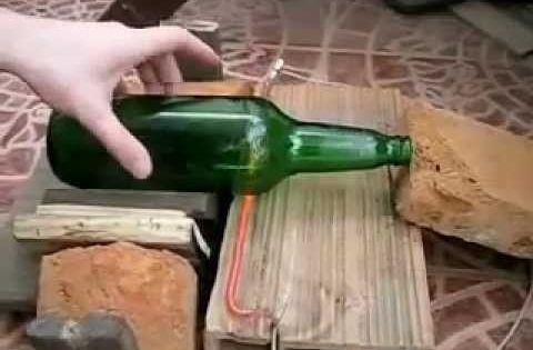 Como cortar una botella de vidrio rapido en casa cut a - Como limpiar una casa rapido ...