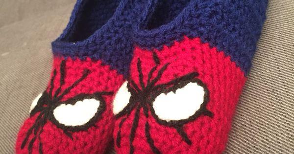 Spiderman Slippers Sutsko A A Pinterest Spiderman