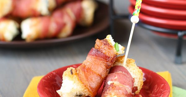 Bacon Cream Cheese Bites | Recipe | Cheese muffins, Bacon and ...