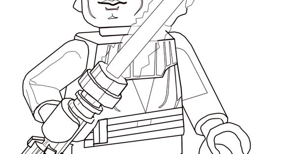 lego anakin skywalker coloring pages - photo#12