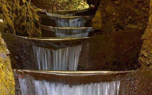 Endless Waterfall - Cummings Creek, Oregon - Clyde Holliday State Park -