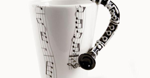 Clarinet mug - Band Geek's DREAM!!!