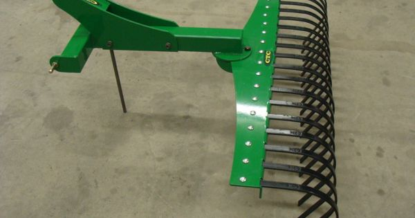 Cat 0 3 Point Hitch Attachments Cat 0 3pt Rake 003