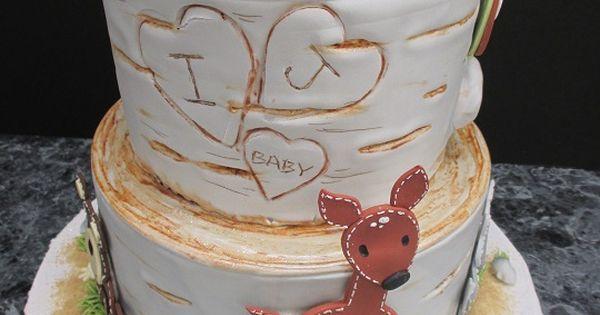 Baby Shower Cakes Supermarket ~ Forest animal baby cake oregon dairy supermarket