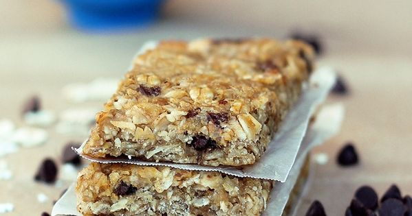 chewy granola bar recipe from Chocolate Covered Katie- can be nut free