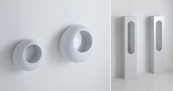 3 nieuwe italiaanse urinoirs toilet. Black Bedroom Furniture Sets. Home Design Ideas
