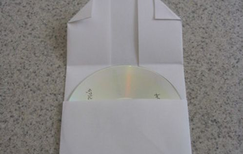 How to Make a Folded-Paper CD Case by DIY Maven, curbly DIY