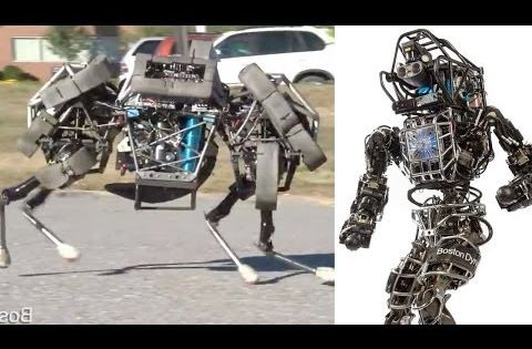 Google Buys Scary Military Robot Maker - YouTube ...