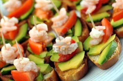 Picaderas faciles y economicas buscar con google for Canapes recetas faciles y economicas
