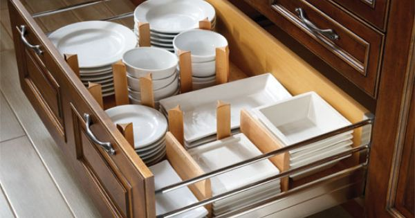 Pegged Dish Organizer How To Maximize Cabinet Storage