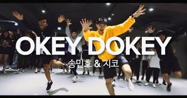 Okey Dokey Song Minho With Zico Junsun Yoo Choreography
