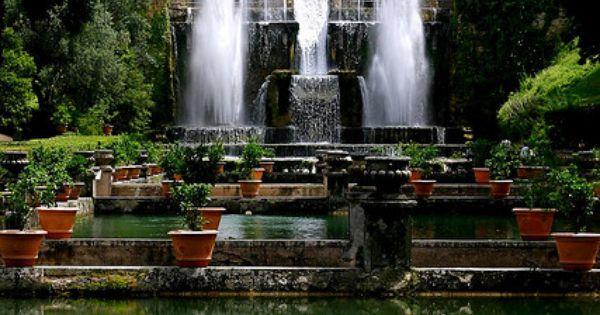 Villa D' Este (Tivoli, Lazio, Italy)