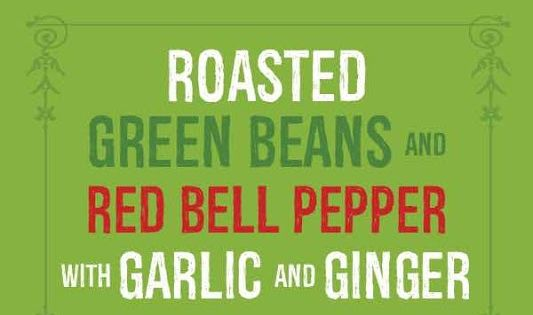 Roasted green beans, Red bell peppers and Green beans on Pinterest