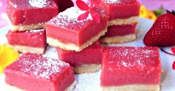 Pink lemonade bars: Pretty and delicious - Click image to find more