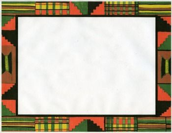 Kente Cloth Clip Art Border Color Clip Art Kente Cloth Art