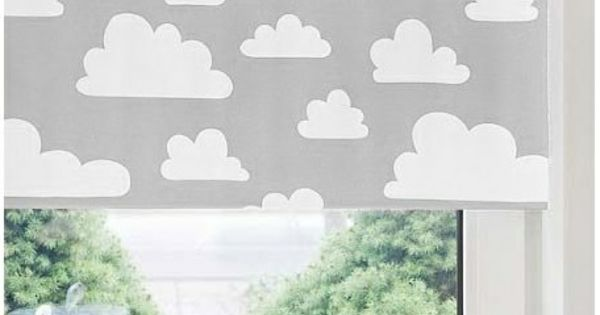 verdunkelungsrollo kinderzimmer jalousien graue wolken kleiner schatz pinterest. Black Bedroom Furniture Sets. Home Design Ideas