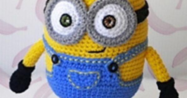 Amigurumi Fanclub Minion : Free Crochet Pattern - Bob the Minion Minions have been so ...