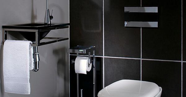 La d co des wc noir et blanc osez c 39 est chic - Deco wc noir et blanc ...