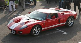 Ford Gt Top Speed 205 Mph 330 Km H Quarter Mile 400m 11 8
