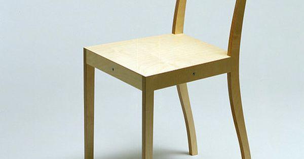 Jasper morrison ply chair seats pinterest jasper and for Plywood chair morrison