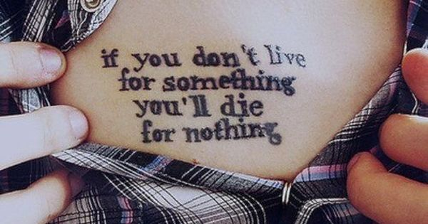 Quote Tattoo For girl, in different font would be beautiful.