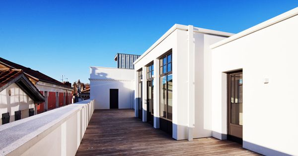 Agence d 39 architecture romain th venot r novation d 39 un for Rex architecture p c