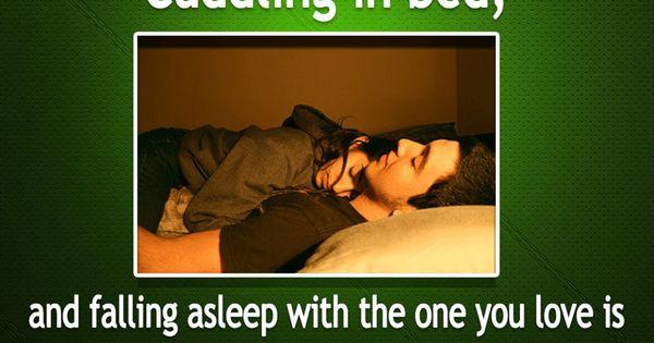best relationships fall asleep after