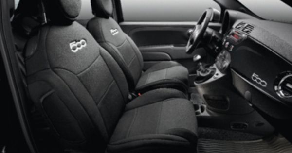2013 Fiat 500 Abarth Seat Covers 82212488 With Images Fiat