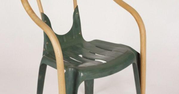 Renovar una vieja silla de pl stico renew an old plastic for Sillas para viejitos